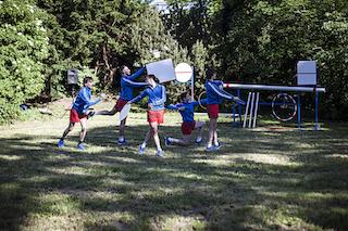 Première LEGOrytmus /photo Linda Průšová