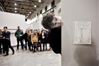premiéra, Wannieck Gallery, Brno /foto Jan Vermouzek